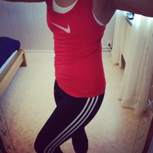 Nya träningskläder