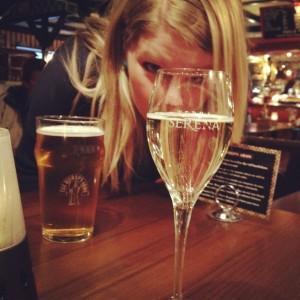 Prosecco och öl