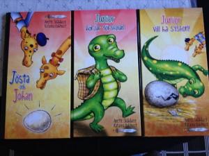 giraff-böckerna